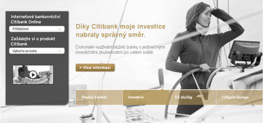 Citigold - kreditní karty