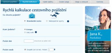 Cestovního pojištění - ČSOB Pojišťovna a.s.