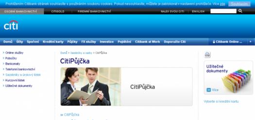 Citibank - CitiPůjčka
