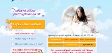 Andělská půjčka je tu pro vás