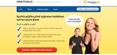 Ferratum půjčka - rychlá půjčka