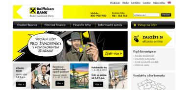 Půjčka od Raiffeisenbank - banka inspirovaná klienty